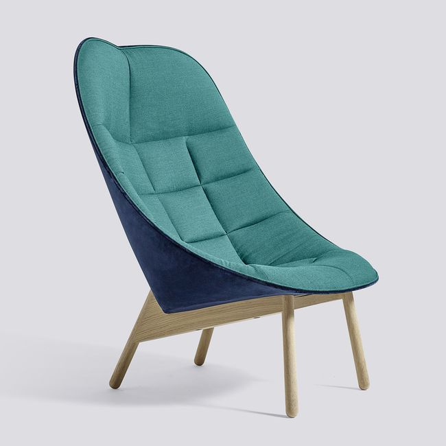 Nordicthink Uchiwa quilted lounge chair