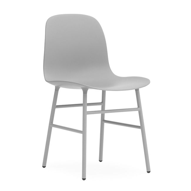 Nordicthink form chair steel normann copenhagen for Normann copenhagen italia