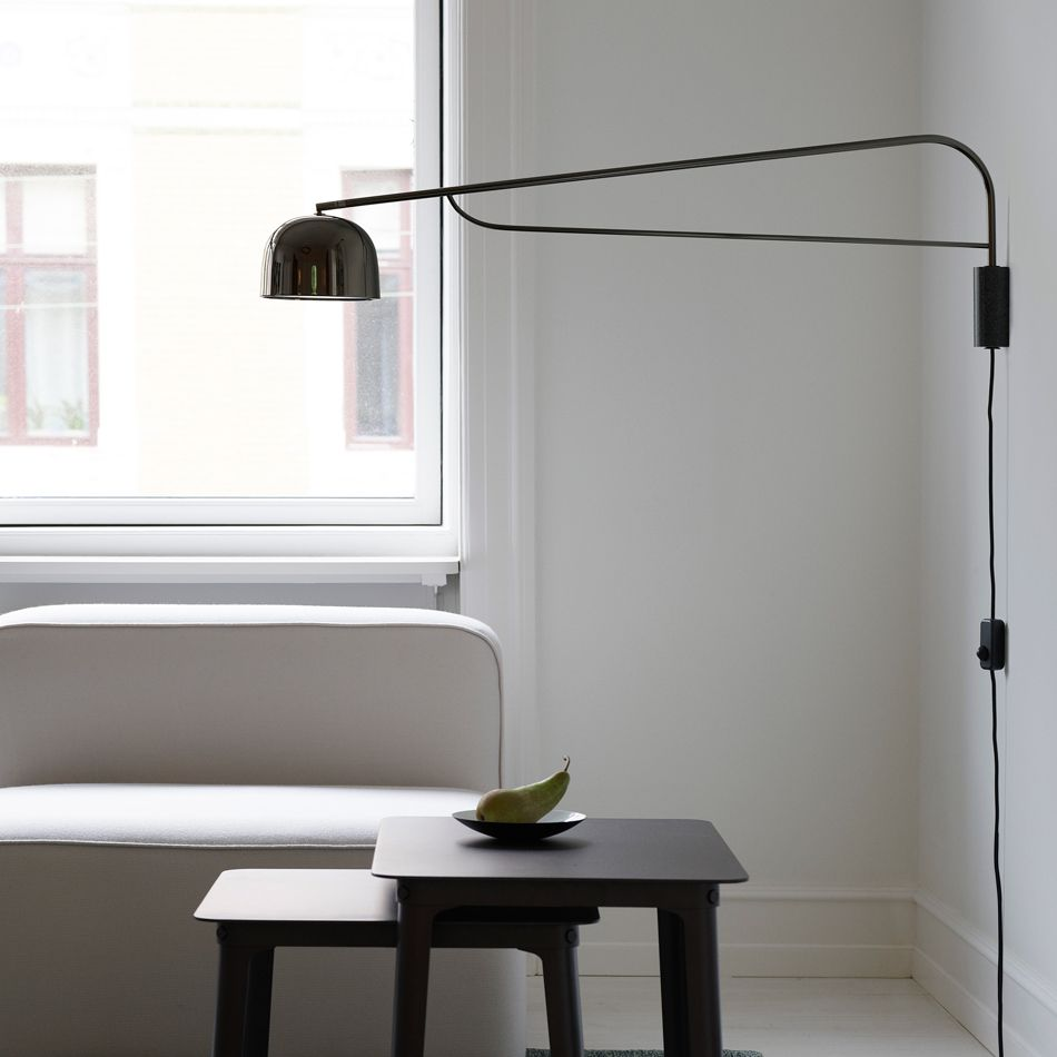 Nordicthink grant wall lamp normann copenhagen for Normann copenhagen italia