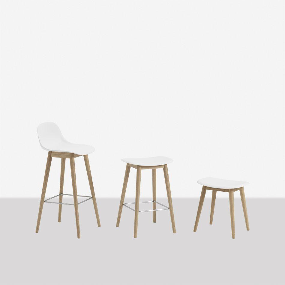 Pleasing Nordicthink Fiber Bar Stool Wood Base Muuto Beatyapartments Chair Design Images Beatyapartmentscom