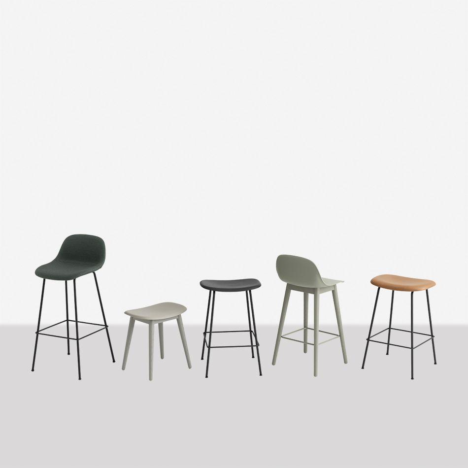 Enjoyable Nordicthink Fiber Bar Stool Wood Base Muuto Beatyapartments Chair Design Images Beatyapartmentscom