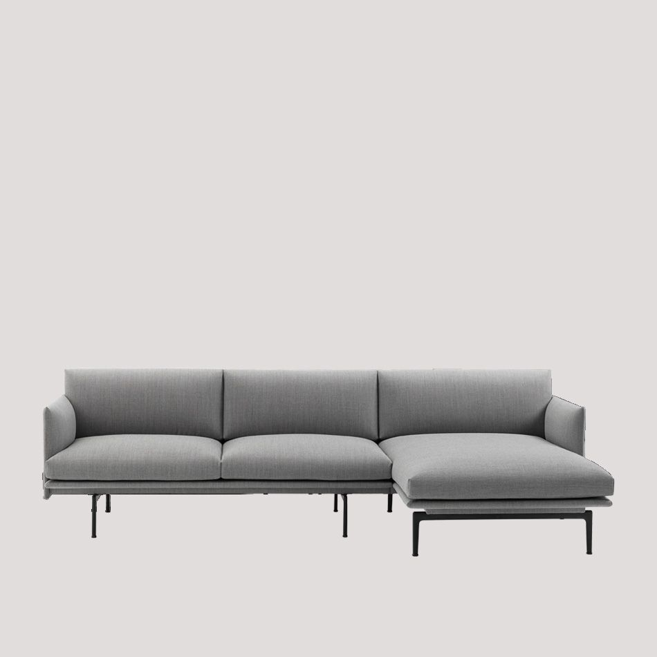 nordicthink outline sofa chaise muuto. Black Bedroom Furniture Sets. Home Design Ideas