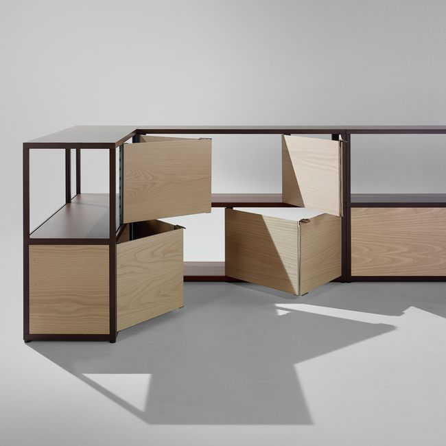 nordicthink new order shelving system stefan diez hay. Black Bedroom Furniture Sets. Home Design Ideas