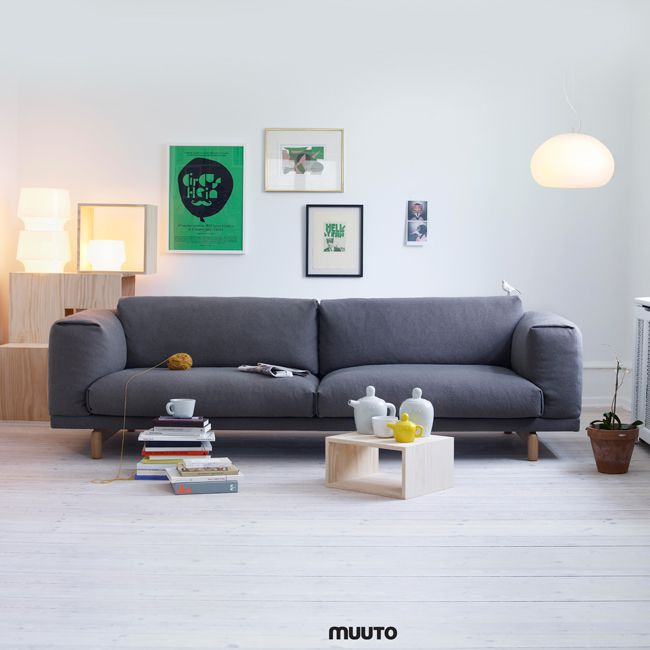 nordicthink rest sofa muuto. Black Bedroom Furniture Sets. Home Design Ideas