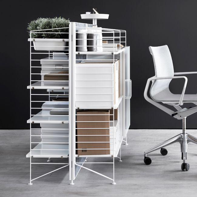Nordicthink String Works Freestanding Shelf String